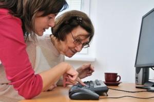 Los ordenadores,estímulo mental de nuestros mayores en residencias geriátricas