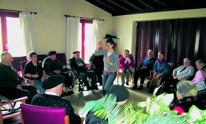 Sesiones de reminiscencia en residencias geriátricas
