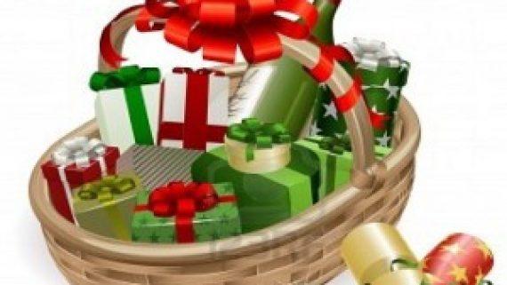 Residencial santa cecilia consigue una cesta de navidad for Cesta arbol navidad